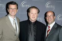 Kevin Reilly, Darrell Hammond and Jeff Zucker at the Hollywood Radio and Television Society's 1st Annual Roast Honoring Jeff Zucker.