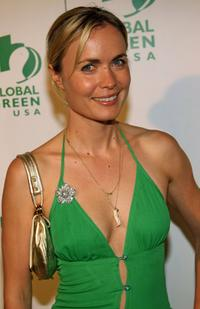 Radha Mitchell at the Global Green USA's Annual Oscar Party.