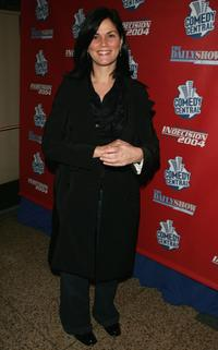 Linda Fiorentino at the Comedy Central Election Night Party.