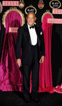 Oscar de la Renta at the Telva Fashion Awards 2008.