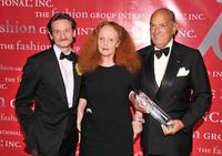 Hamish Bowles, Grace Coddington and Oscar de la Renta at the Fashion Group International's 26th Annual Night of Stars.