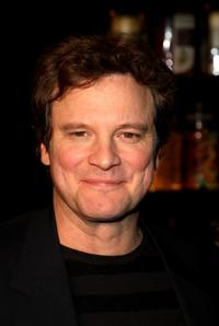 Colin Firth at the afterparty following the world premiere of