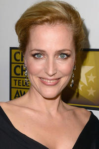 Gillian Anderson at Broadcast Television Journalists Association Second Annual Critics' Choice Awards in Beverly Hills.