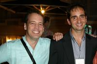 Dee Bradley Baker and Chris Alexander at the Twentieth Century Fox Television's New Season party.