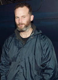 Matthew Barney at the opening night party of