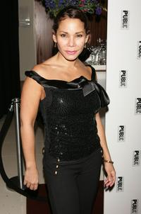 Daphne Rubin-Vega at the after party of
