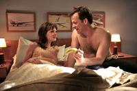 Carey Mulligan as Jenny and Peter Sarsgaard as David in