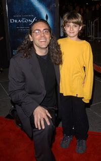 Tom Shadyac and Jacob Smith at the premiere of