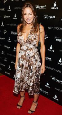 Krista Allen at the first annual Head to Hollywood Celebrity Charity Poker Tournament and Auction.