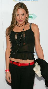 Krista Allen at the launch of