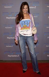 Krista Allen at the Playstation 2 celebration of this year's Electronic Entertainment Expo.
