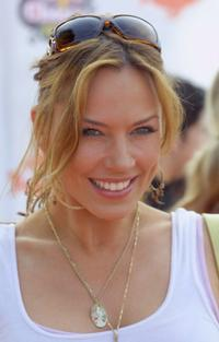 Krista Allen at the 18th Annual Kids Choice Awards.