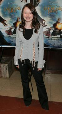 Emily Browning at the special screening of