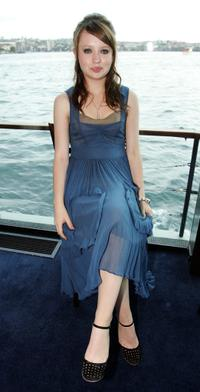 Emily Browning at the 2005 Lexus Inside Film Awards.