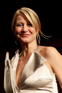 Trine Dyrholm at the Closing Awards Ceremony of the 5th International Rome Film Festival.