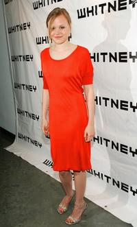Alison Pill at the Third Annual Whitney Museum Contemporaries Art Party And Auction.