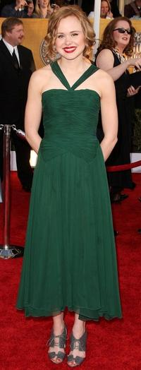Alison Pill at the 15th Annual Screen Actors Guild Awards.