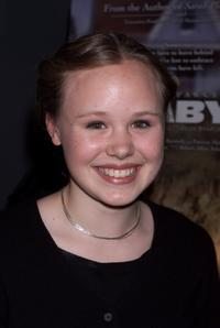 Alison Pill at the screening of
