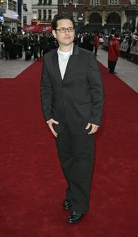 J.J. Abrams at the UK premiere of