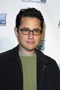 J.J. Abrams at the Alias Season 3 DVD release party.