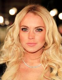 Lindsay Lohan at the Los Angeles premiere of