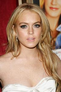 Lindsay Lohan at the New York premiere of