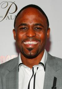 Wayne Brady at the opening night celebration of the musical