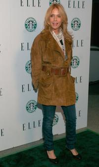 Rosanna Arquette at the Launch of ELLE Magazines premiere Green Issue.