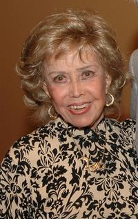 June Foray at the Academy of Motion Picture Arts and Sciences.