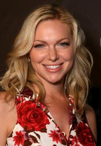 Laura Prepon at the Pink Party to benefit Cedars-Sinai Women's Cancer Research Institute.