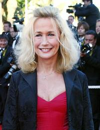 Brigitte Fossey at the official projection of