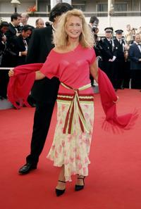 Brigitte Fossey at the premiere of