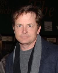 Michael J. Fox at the New York City Ballet and The School of American Ballet presentation of The Nutcracker Family Benefit.