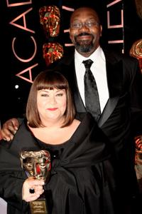 Dawn French and Lenny Henry at the BAFTA Television Awards 2009.