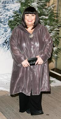 Dawn French at the Royal Film Performance and world premiere of