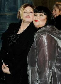 Sharon Osbourne and Dawn French at the Royal Film Performance and world premiere of