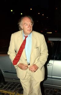 Michael Gambon at the Ireland afterparty in City Hall of