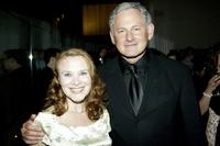 Victor Garber and Maureen Moore at the opening night party for the revival of