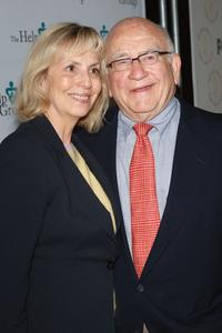 Ed Asner and his wife Cindy at the HELP Groups' Teddy Bear Picnic.
