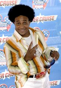 Orlando Brown at the premiere of