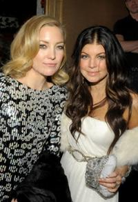 Kate Hudson and singer Fergie at the after party of the New York premiere of