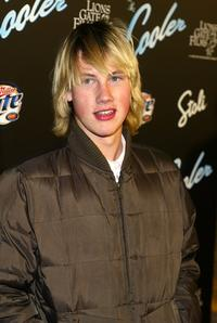 John Robinson at the premiere of