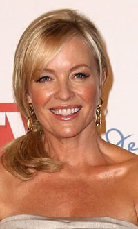 Rebecca Gibney at the red carpet of 2011 Logie Awards in Australia.