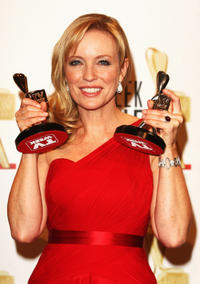 Rebecca Gibney at the 51st TV Week Logie Awards in Australia.