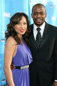 Nicole Lyn and Dule Hill at the 39th NAACP Image Awards.