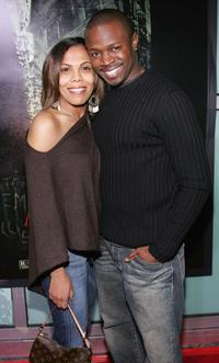 Sean Patrick Thomas and a guest at the premiere of