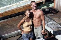 Jessica Alba and Paul Walker in
