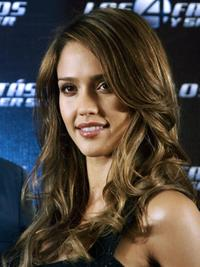 Jessica Alba at the presentation of