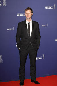 Nicolas Duvauchelle at the 37th Cesar Film Awards.