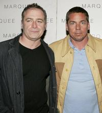 Tom Gilroy and Producer Jamin O'Brien at the LaSalleHolland Tribeca Film Festival party.